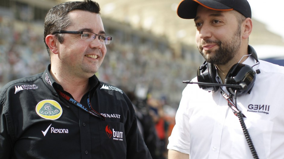 Lopez takes over as Boullier leaves Lotus