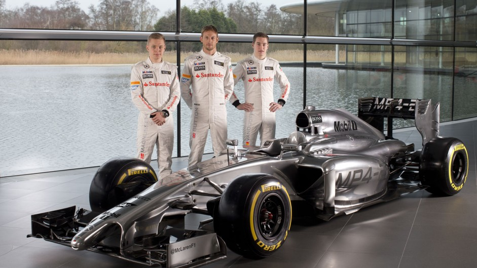 McLaren MP4-29: First pictures