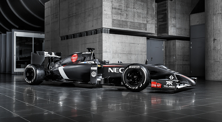 Sauber C33: First pictures