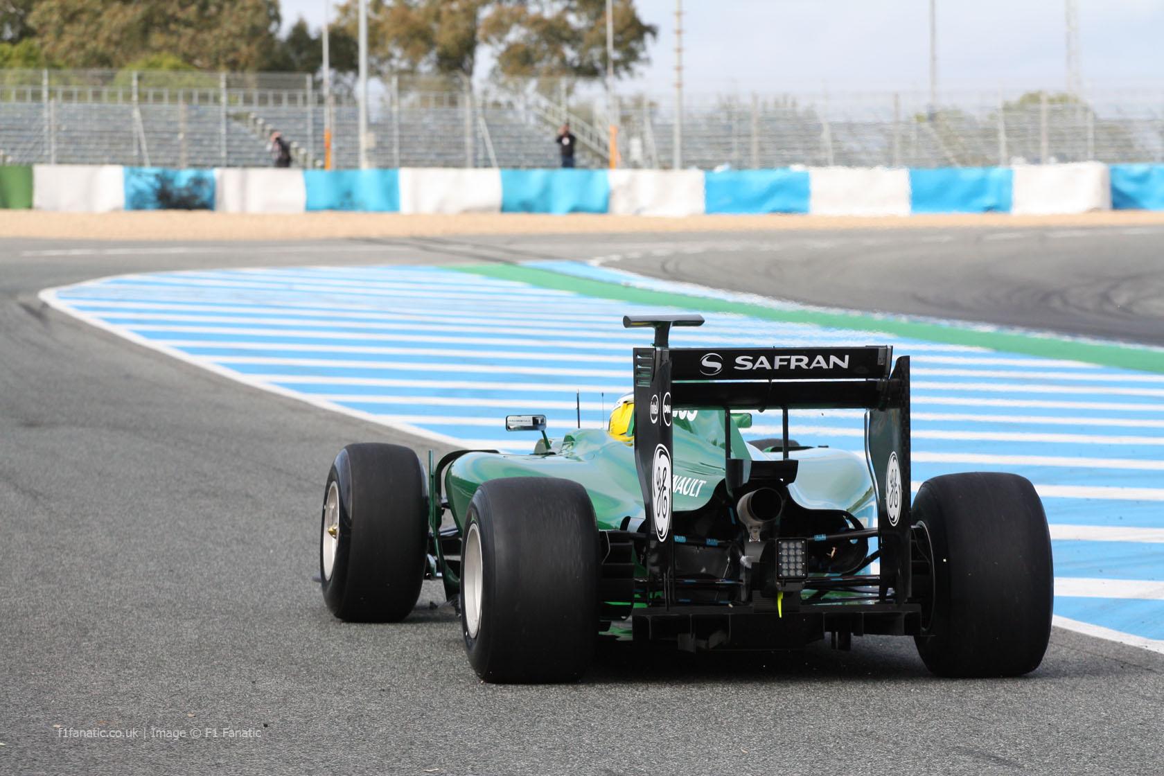 Caterham CT05, Jerez, 2014
