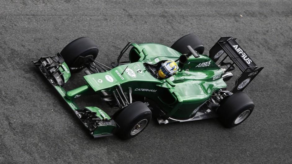Marcus Ericsson, Caterham, Jerez, 2014