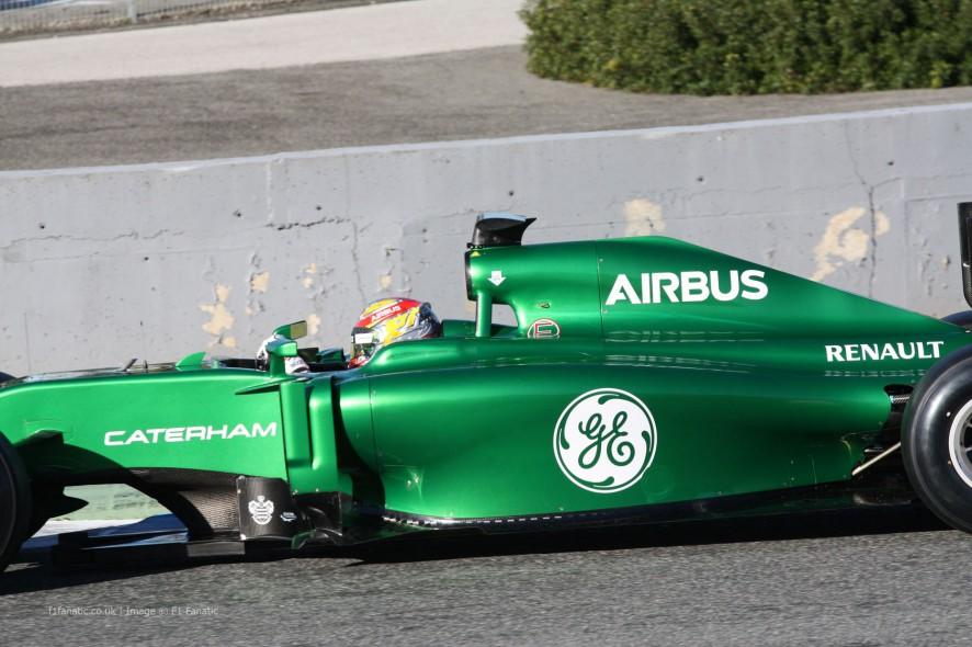 Robin Frijns, Caterham, Jerez, 2014