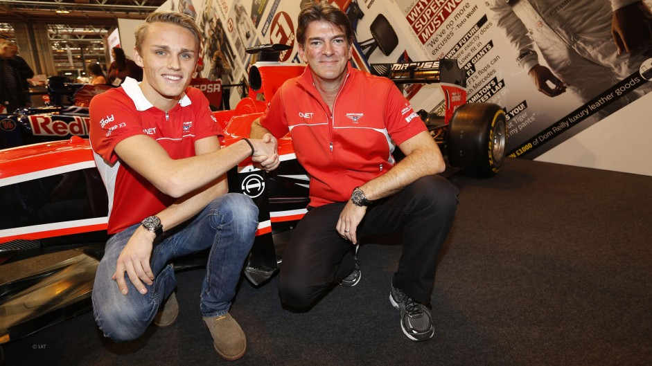 Marussia confirm Chilton for 2014