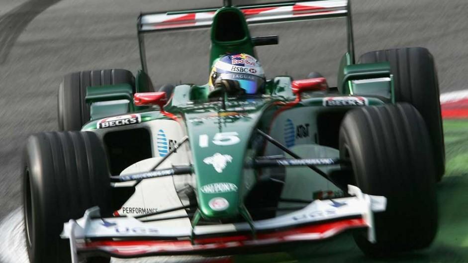Christian Klien, Jaguar R5, Monza, 2004