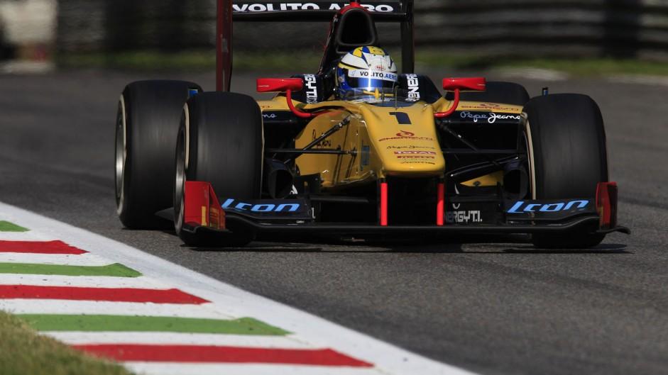 Marcus Ericsson, DAMS, GP2, Monza, 2013