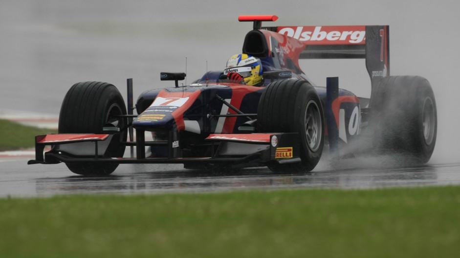 Marcus Ericsson, GP2, iSport, Silverstone, 2012
