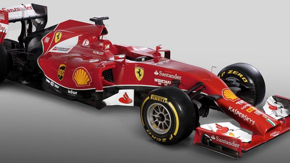 Ferrari F14 T, three quarter