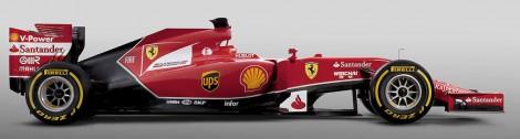 Ferrari F14 T,side
