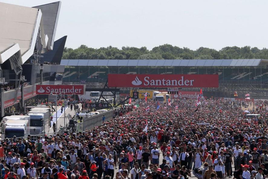 Fans, Silverstone, 2013 British Grand Prix