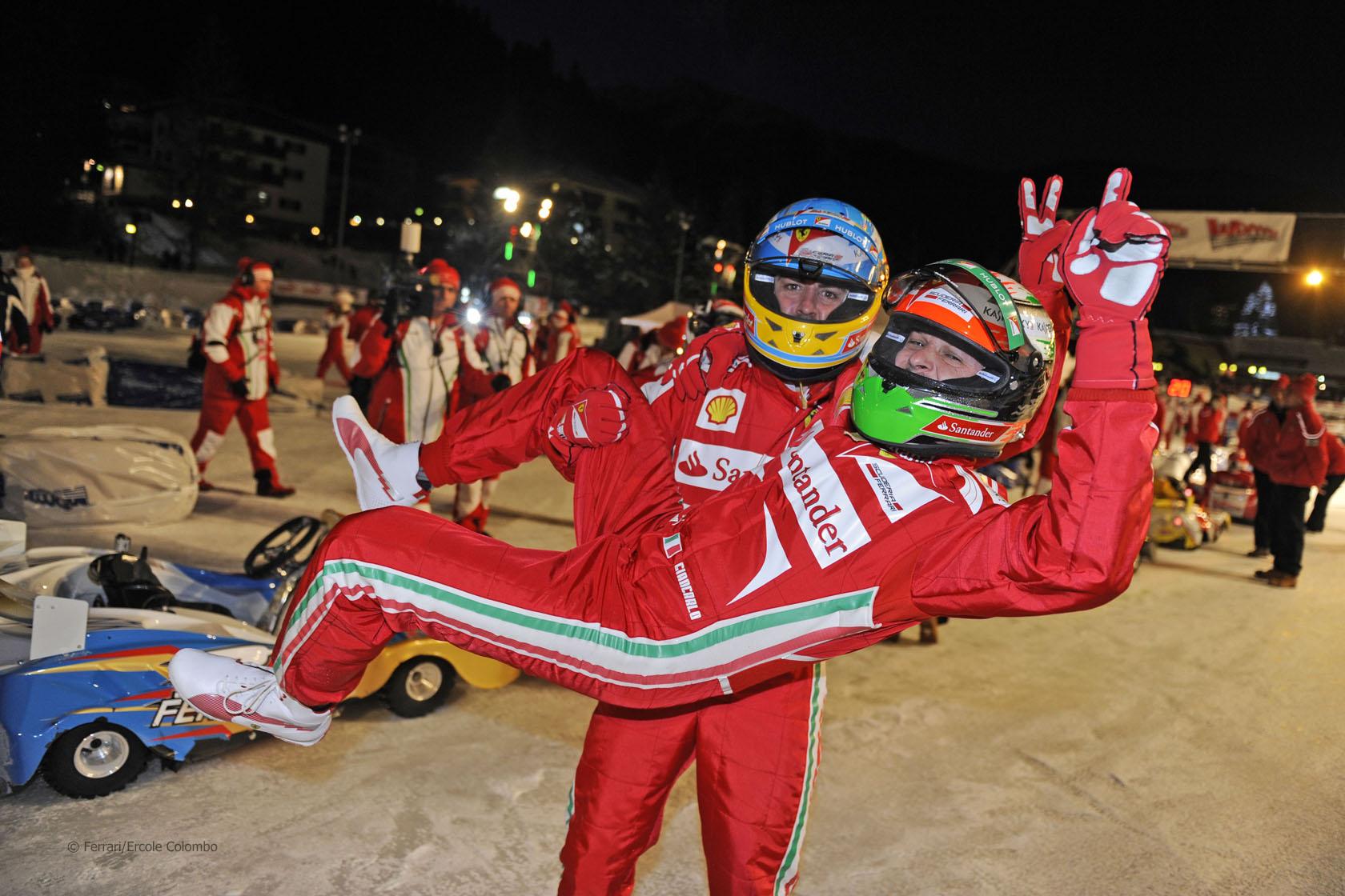 Fernando Alonso, Giancarlo Fisichella, 2013