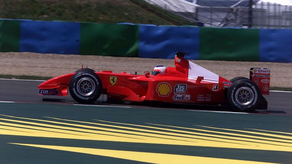 Rubens Barrichello, Ferrari F2001, Magny-Cours, 2001