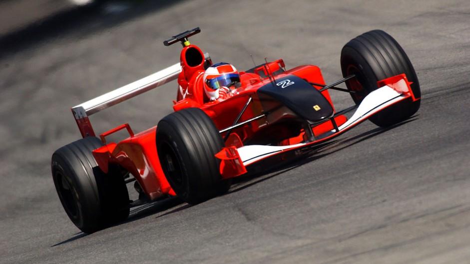 Rubens Barrichello, Ferrari F2001, Monza, 2001