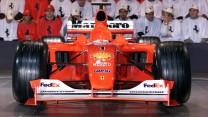Ferrari F2001 launch, 2001