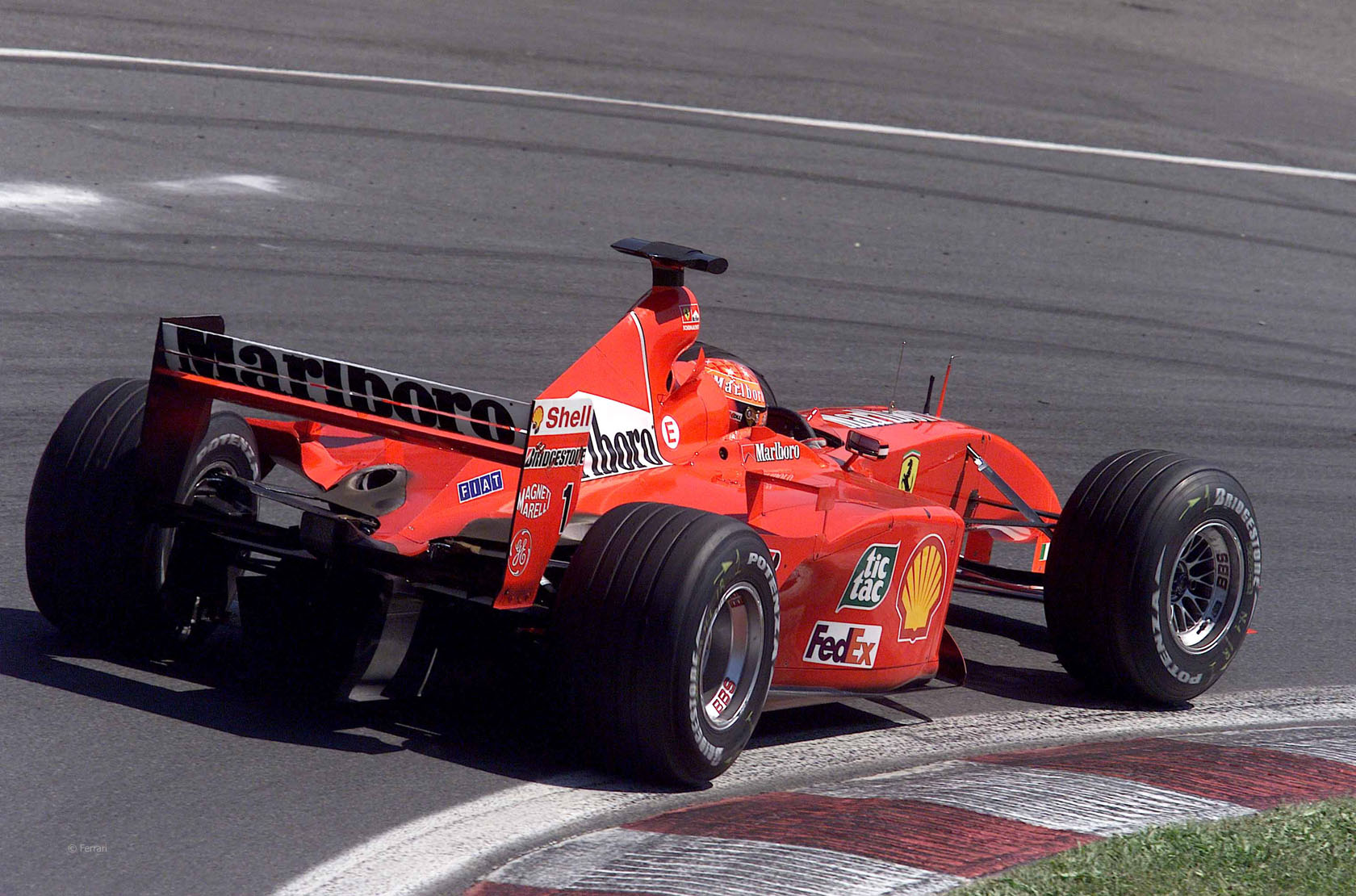 ferrari f2001 michael schumacher - photo #1