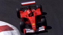 Michael Schumacher, Ferrari F2001, 2001