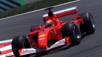 Michael Schumacher, Ferrari F2001, Magny-Cours, 2001