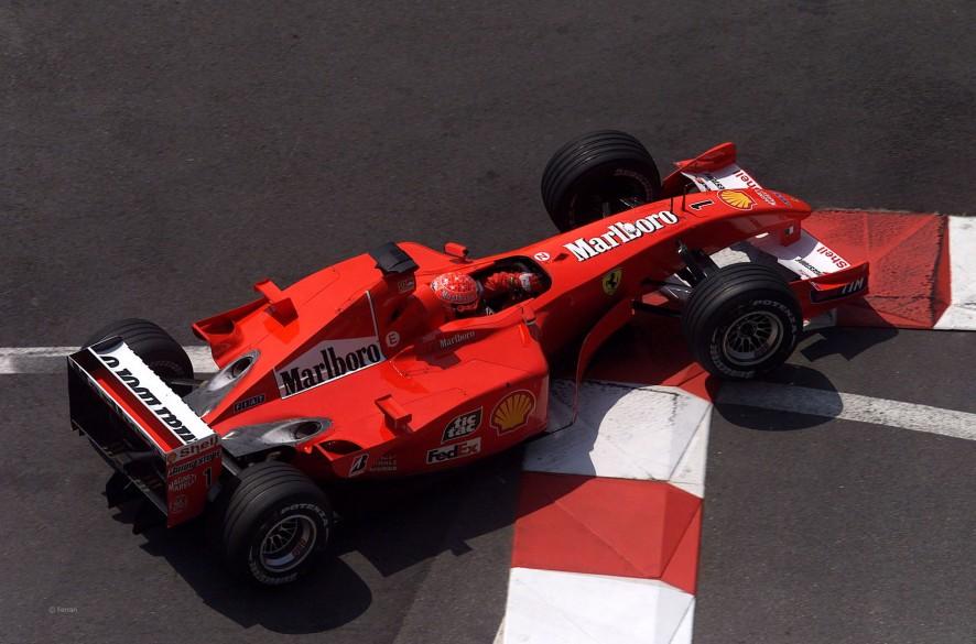 Michael Schumacher, Ferrari F2001, Monte-Carlo, 2001