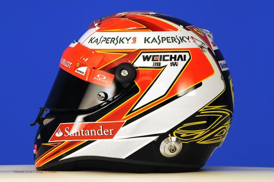 Kimi Raikkonen helmet, 2014