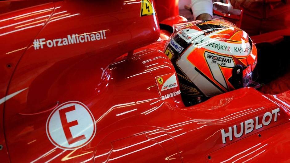 Kimi Raikkonen, Ferrari, Jerez, 2014