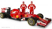 Fernando Alonso, Kimi Raikkonen, Ferrari F14 T, 2014