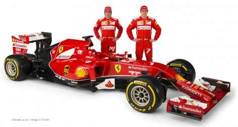 Fernando Alonso, Kimi Raikkonen, Ferrari F14 T, 2-014