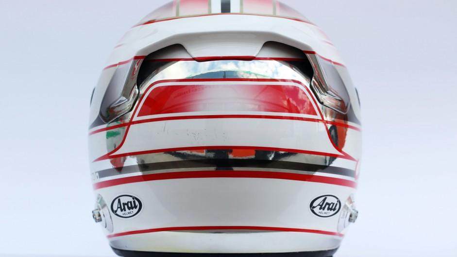 Daniel Juncadella helmet, Force India, 2014