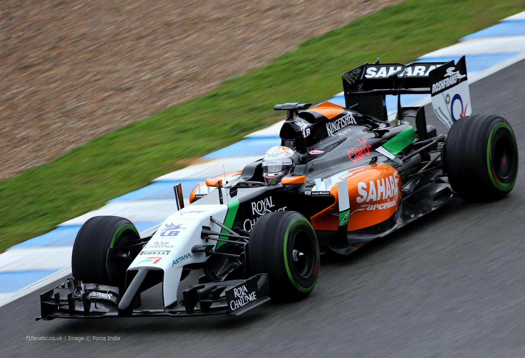 Daniel Juncadella, Force India, Jerez,2014