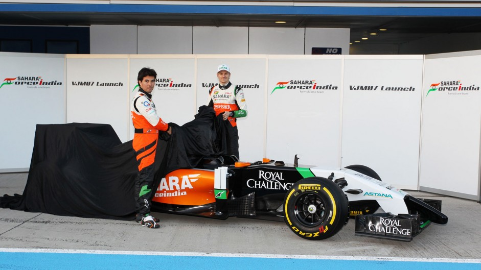Force India VJM07: More pictures revealed