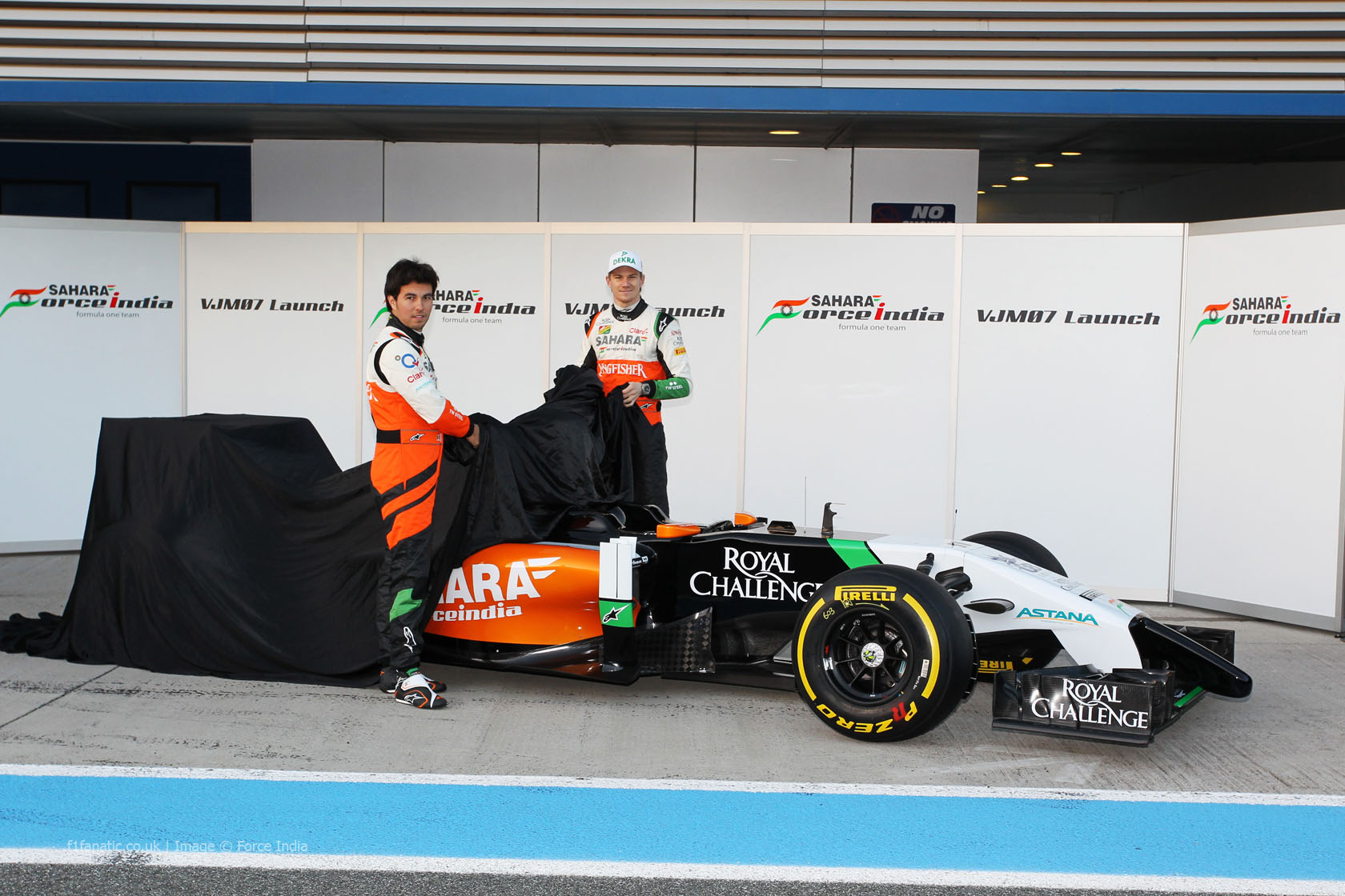 Force India VJM07, Jerez, 2014