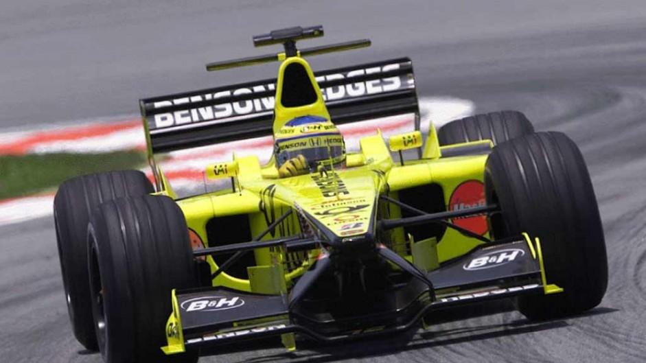 Jarno Trulli, Jordan EJ11, Sepang, 2001