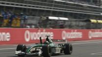 Eddie Irvine, Jaguar R3, Monza, 2002