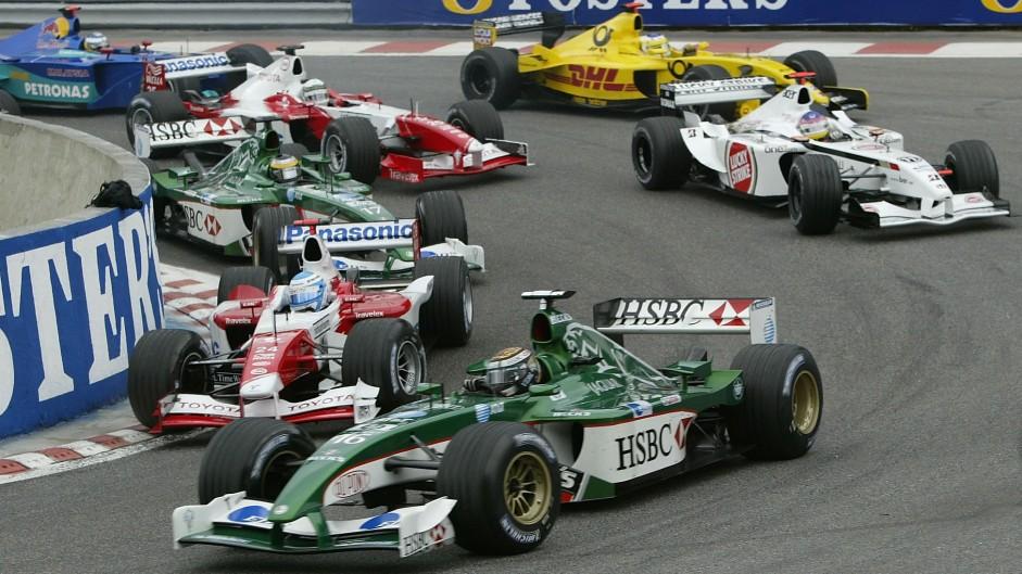 Eddie Irvine, Jaguar R3, Spa-Francorchamps, 2002