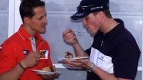 Michael Schumacher, Ralf Schumacher, 2001