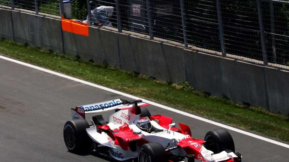 Jarno Trulli, Toyota TF106, Circuit Gilles Villeneuve, 2006