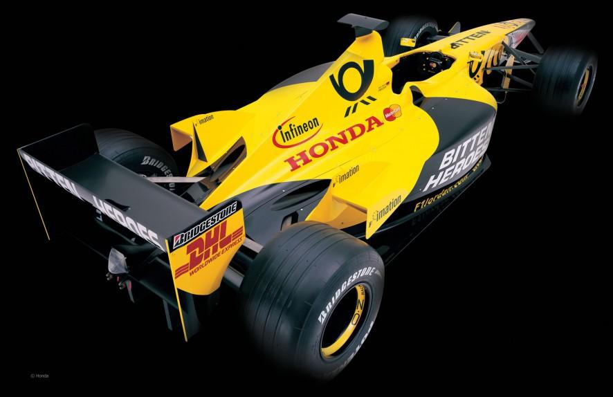 Jordan EJ11, 2001