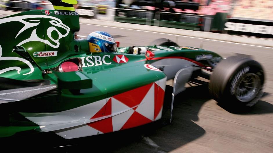 Christian Klien, Jaguar R5, 2004