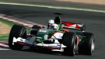 Christian Klien, Jaguar R5, Magny-Cours, 2004