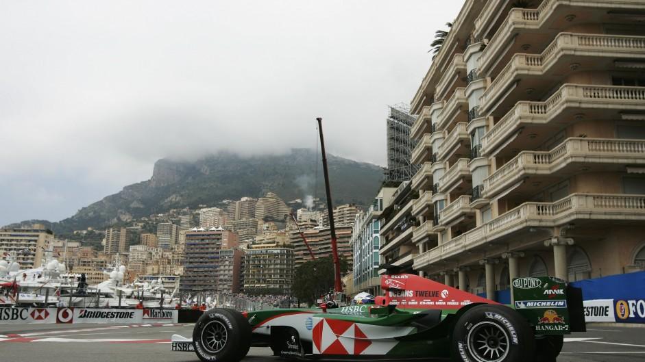 Christian Klien, Jaguar R5, Monaco, 2004