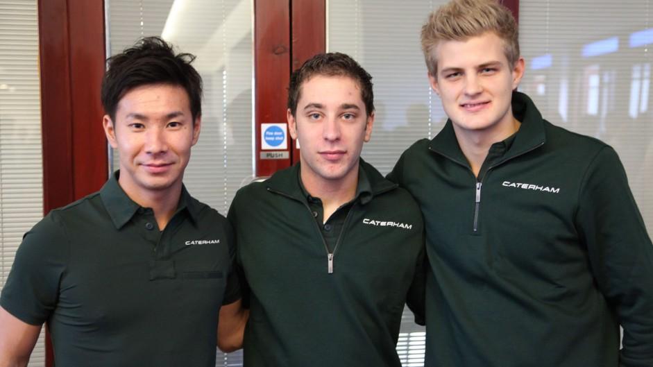 Kobayashi and Ericsson form all-new Caterham squad
