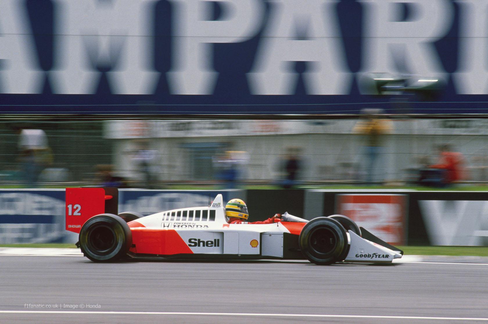 艾伦·塞纳(Ayrton Senna),迈凯轮,1988年