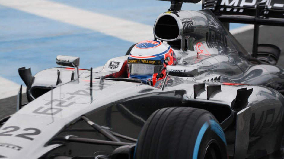 Jenson Button, McLaren MP4-29, Jerez, 2014