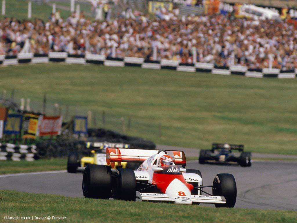 Niki Lauda, McLaren, Brands Hatch, 1984