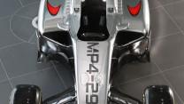McLaren MP4-29, top, 2014