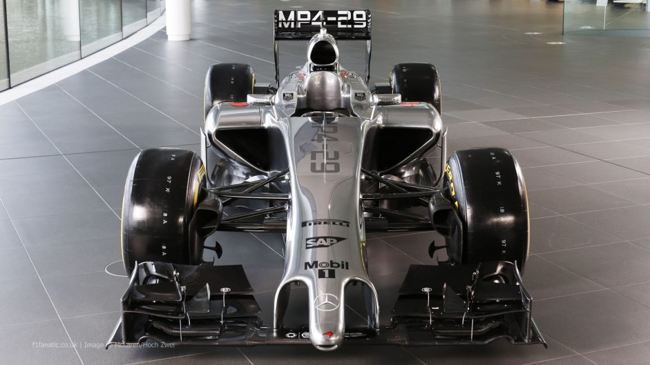 McLaren expect to run on Wednesday
