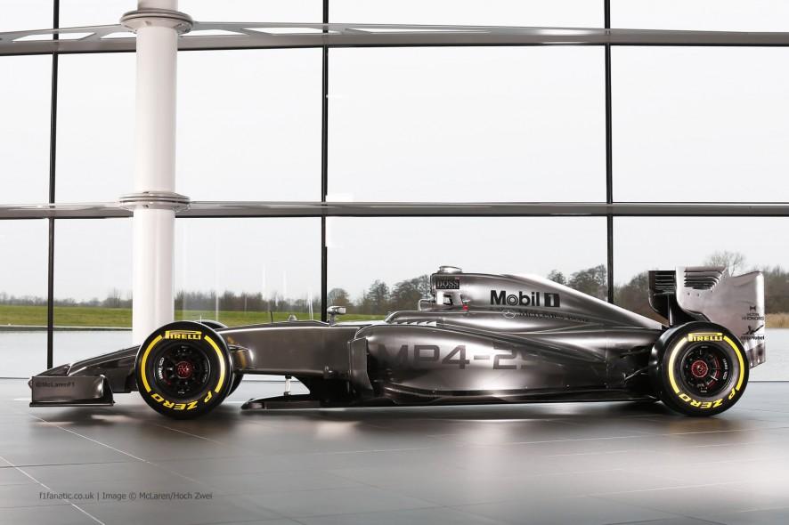 McLaren MP4-29, side, 2014