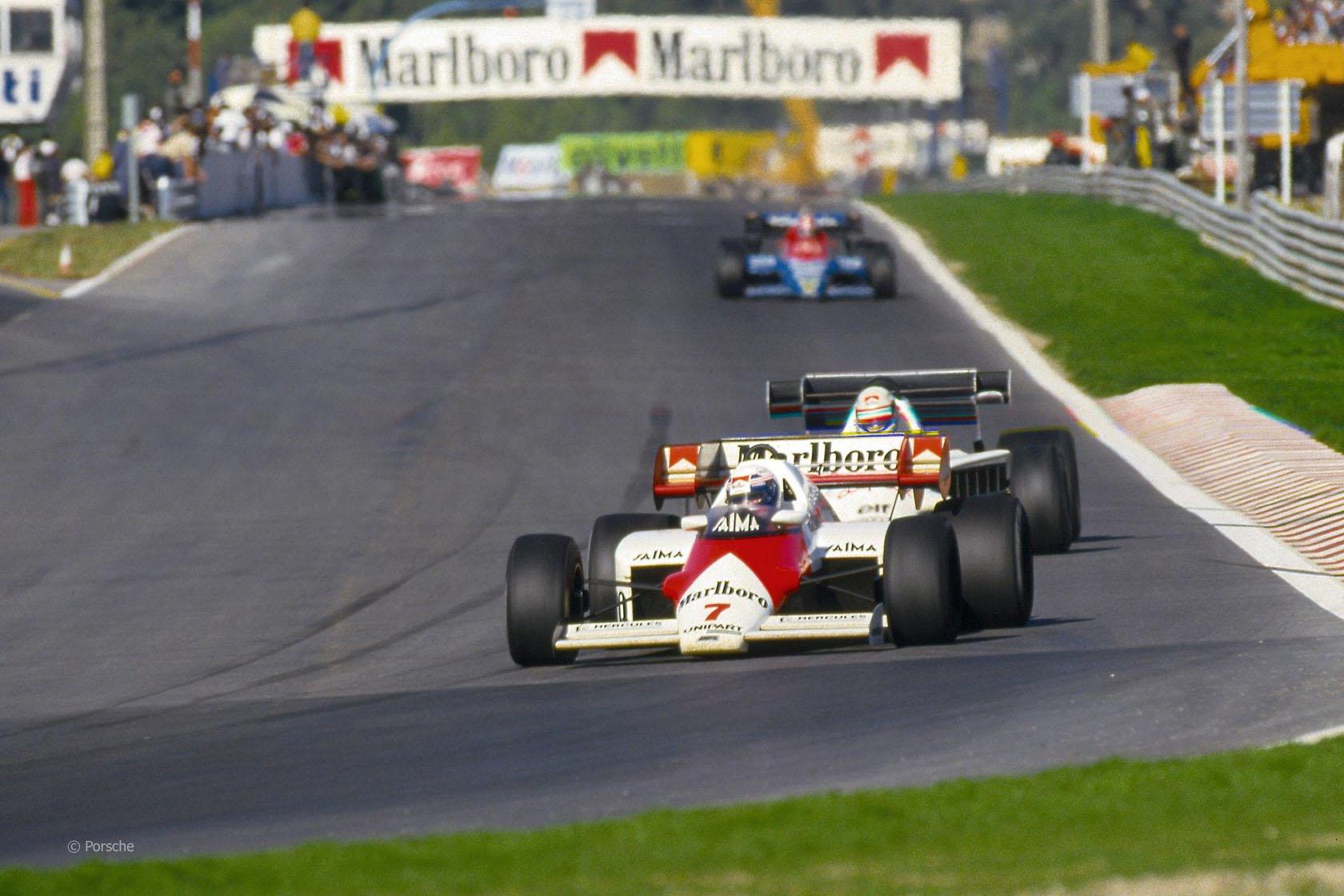 Alain Prost, McLaren, Estoril, 1984