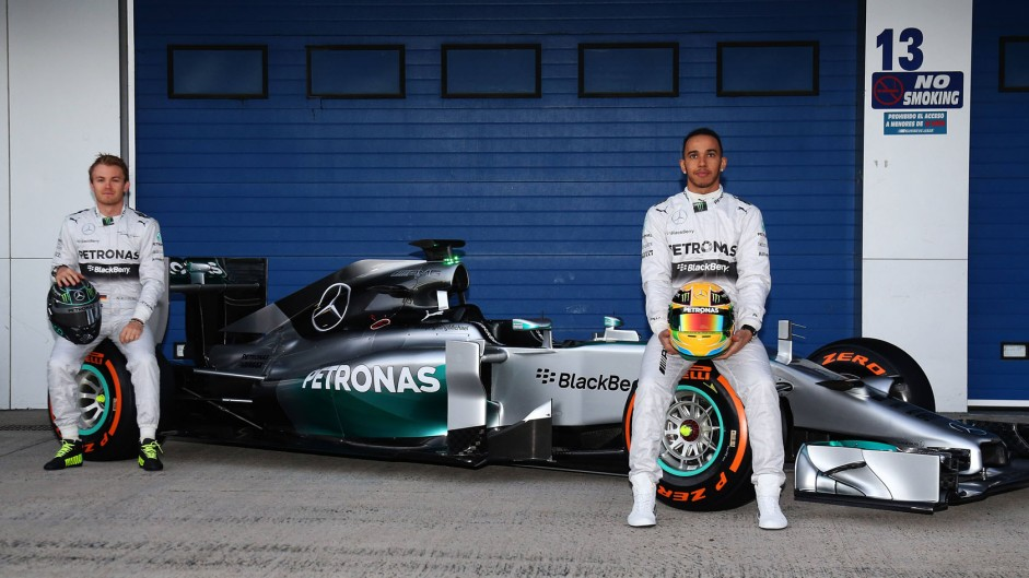 Mercedes W05: First pictures