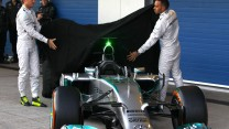Nico Rosberg, Lewis Hamilton, Mercedes W05, Jerez, 2014