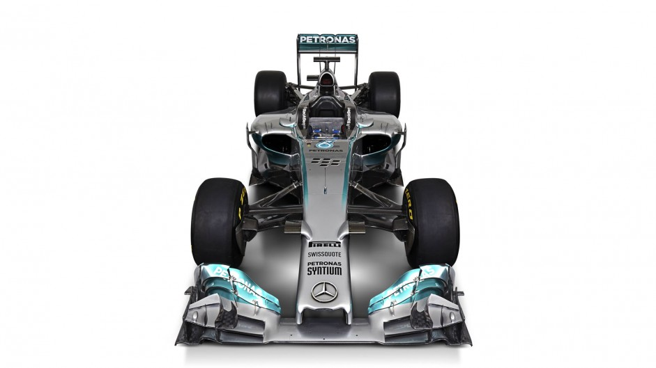 Mercedes W05, front, 2014