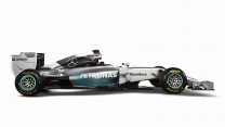Mercedes W05, right, 2014